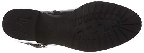 19 Femme 25321 Noir 21 Black 019 Botines 9 9 Comb Caprice qvwYgPxAY