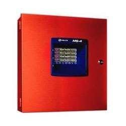 - FIRE-LITE ALARMS MS-4 FIRE PANEL, 4 ZONE, 24V CLASS B, 2 CLASS B NAC by Fire Lite Alarms