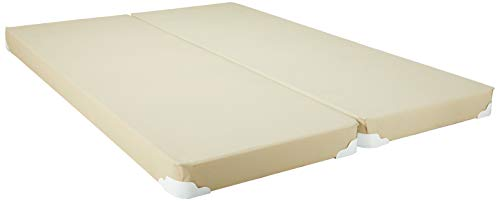 Solutions Box Single (Mattress Solution, 4-inch/Low Profile Split Box Spring/Foundation for Mattress |Full Size|)