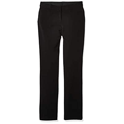 Rafaella Women's Curvy Fit Gabardine Slim Leg Pant at Women's Clothing store