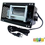 (bbq factory Speed Variable S31105 Blower 110V ~ 120V for GHP Group, Monessen / Majestic (MHSC Brands), Majestic Dutchwest Windsor, CFM US Century Plate Steel Freestanding Wood Stove)
