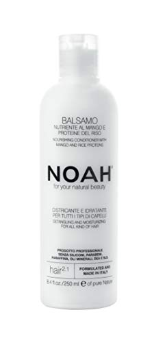 Noah Hair - 2.1 Nourishing Conditioner with Mango - Organic Conditioner - With Hydrolized Rice Protein – Detangling Conditioner - Hair Care for Natural Beauty - 8.5 fl.oz (250 ml) ()