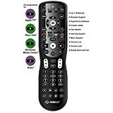 Inteset 4-in-1, INT422 Universal Backlit IR Learning Remote for use with Apple TV, Xbox One, Roku, Media Center, Nvidia Shield and many other A/V Devices