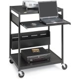 Bretford ECILS1FF-BK NB Data Projector Cart with CFPS
