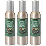 Yankee Candle Concentrated Room Spray 3-PACK (Balsam & Cedar) (Yankee Candle Spray Scents)
