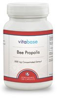 Vitabase Bee Propolis Support Immune System 500 mg 100 Capsules (Pack of 4)