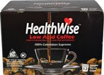 HealthWise Low Acid K Cups, 144 count, Keurig 2.0 Compatible, 12 Cartons of 12 count by HealthWise Coffee