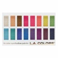 L.A. Colors 16 Color Eyeshadow Palette Haute