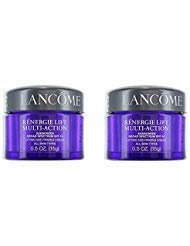 2 x Lancome Renergie Lift Multi-Action Sunscreen Broad Spectrum SPF 15 Lifting and Firming Cream All Skin Types 0.5 ()