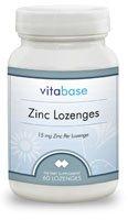 Zinc Lozenges (15 mg) 60 Lozenges by Vitabase