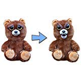 Feisty Pets Sir Growls-A-Lot- Plush Stuffed Bear that Turns Feisty with a Squeeze, -