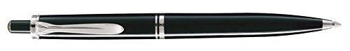 Pelikan 926253 Druckkugelschreiber Souverän K405, schwarz/silber
