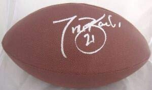 Ny Giants Tiki Barber Autographed Signed Wilson NFL Football PSA/DNA - Certified Authentic Barber Autographed Nfl Football