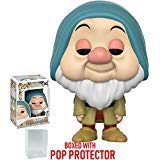 Funko Pop! Disney: Snow White and the Seven Dwarfs - Sleepy Vinyl Figure (Bundled with Pop Box Protector Case)
