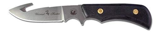 Knives Of Alaska Trekker Series Whitetail Hunter D2 Knife, SureGrip Handle, Black, 00162FG