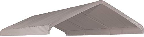 ShelterLogic SuperMax All Purpose Outdoor 10 x 20-Feet Canopy Replacement Cover for 2-Inch Frame Canopies (Cover Only, Frame Not Included)