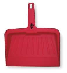 Tough Guy 2VEY1 Dust Pan, Red