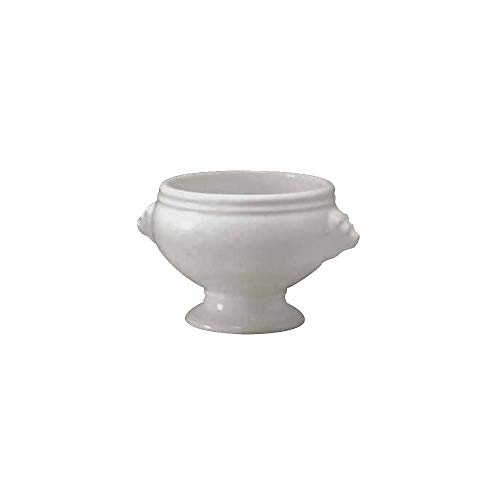 Diversified DC624-UW Ultra White 13 Oz. Lion's Head Tureen - 12 / CS by Diversified Ceramics (Image #1)