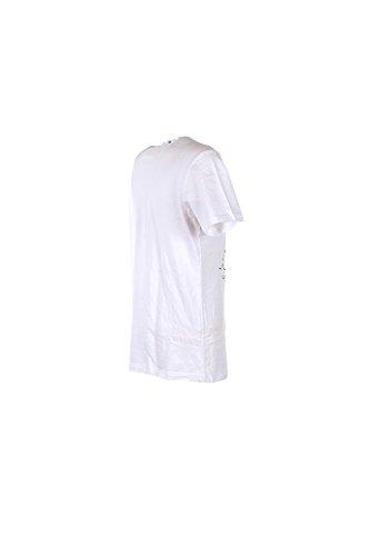 T-shirt Uomo Daniele Alessandrini 2XL Bianco M6158e6433700 Primavera Estate 2017