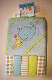 Cutie Pie Hooded Towel & 5 Washcloths