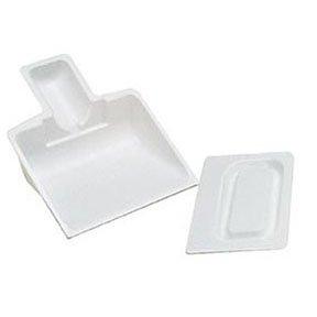 DISPOSABLE PLASTIC SCOOP & SCRAPER 10/PKG