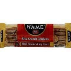 (Black Sesame & Soy Rice Crackers (12-3.5 OZ) Black Sesame & Soy Rice Crackers)