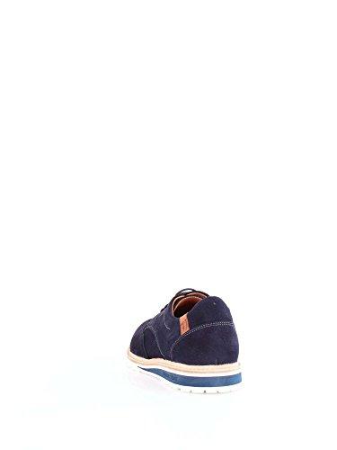 Trussardi Jeans Zapatos de Cordones de Ante Para Hombre Azul Turquesa
