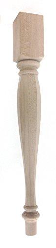 (Octagonal Vase Nottingham Dining Table Leg - 29