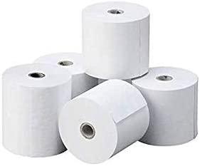 Rollo de papel Térmico 80 x 60 x 12 mm 8 Unidades valido impresoras de TPV Cajas Registradoras, Calculadoras Impresoras genericas