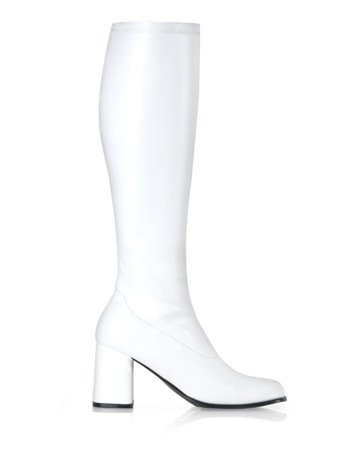 Funtasma by Pleaser Women's Gogo-300,White Patent,8