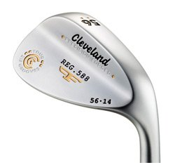 Cleveland 588 Forged Satin Wedge (Standard Bounce) : Left, Loft: 60, Bounce: 12, True Temper Tour Concept Steel (Wedge)