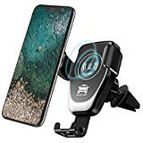 Wireless Car Charger,Fast Charger Car Mount Air Vent Gravity Phone Holder for iPhone X/8/8 Plus, Samsung Galaxy NoteS9 8/S...