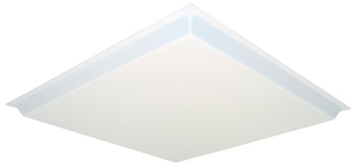 - Lithonia Lighting D2SBDDROP2 2-Foot by 2-Foot Dropped Acrylic Diffuser, White
