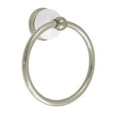 Rope Base Towel Ring - Delta 69246-bb Buffed Brass Towel Ring w/ Rope Base