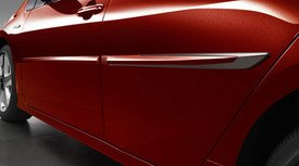 TOYOTA Genuine Prius 2016-2017 Body Side MOLDINGS (Code 8W7) PT938-47160-08 ()