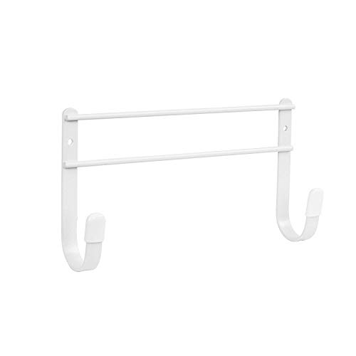 Spectrum Diversified Wall Mount Ironing Board Holder, White (Wall Iron Board Holder)