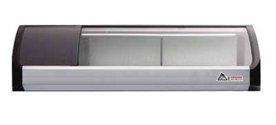 Self Service Refrigerated Display Case (Everest ESC47L Self Contained Countertop Refrigerated Display Case - Left Comp Mount 47.25L x 14W)