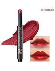[the SAEM] ECO SOUL kiss button lips matte Red Warmer - Monroe Red Lipstick Marilyn