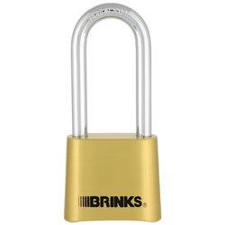 Brinks Brass Resettable Lockcomb 50Mm-2Pack
