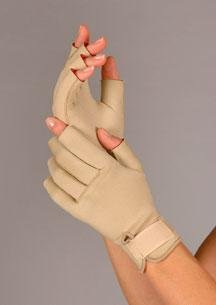 Therall Arthritis Glove, Beige, Small by FLA Orthopedics