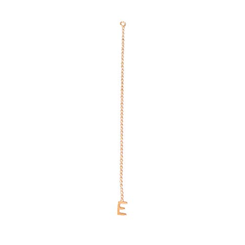 Automic Gold Solid 14k Rose Gold Initial Extender, K ()
