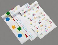 - TIDI Products TID 982118 Exam Table Paper, Pediatric Combo, Crepe, Latex Free, 18