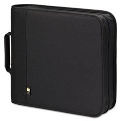 208 Cd Logic Nylon Case (Case Logicamp;reg; CD/DVD Binder Holds 208 CDs, Nylon)