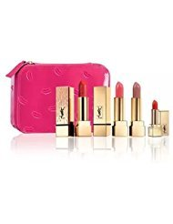 (Yves Saint Laurent Beaute Limited Edition Ultimate Lip Set with Cosmetic Case)