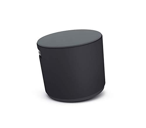 Stееlcаsе Deluxe Premium Collection Buoy Graphite Fabric Black Decor Comfy Living Furniture