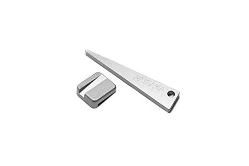 Arisaka Defense Optic Leveler Small, Silver, OL-Small
