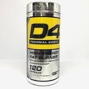 Cellucor D4 Thermo Shock NEW (G4 Series) 120 capsules High Energy, Fat Burner