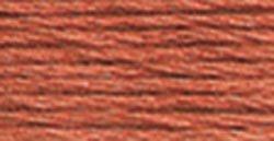 DMC 116 8-356 Pearl Cotton Thread Balls, Medium Terra Cotta, Size - Embroidery Cotton Thread Pearl Dmc