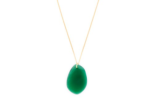 Wouters & Hendrix femme    Plaqué or Ovale   Vert Achat