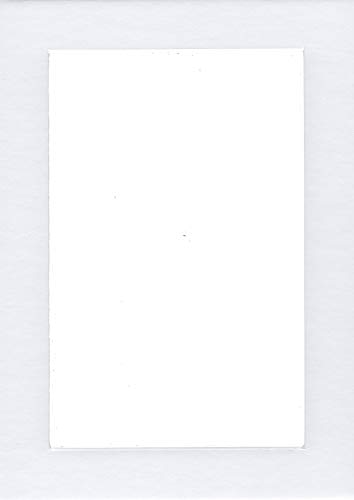 Pack of 2 24x36 White Picture Mats with White Core, for 20x30 Pictures